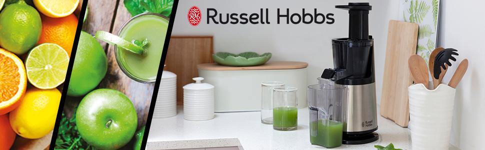 Russell Hobbs Slow Juicer 25170-56 - Licuadora de extracción lenta ...