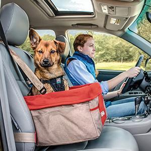 Amazon.com : Kurgo Rover(TM) Booster Dog Car Seat with Dog