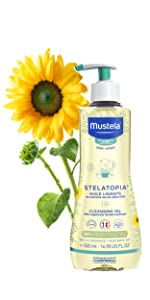 Mustela Stelatopia Cleansing Oil