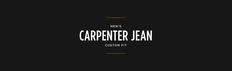 Lee Men's Big-Tall Custom Fit Carpenter Jean