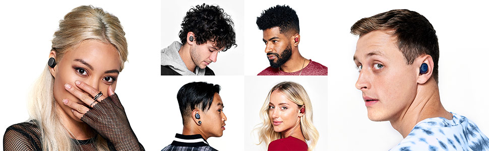 Sesh True Wireless Earbuds on Models