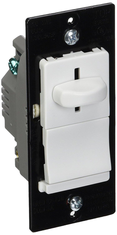 Legrand LSCL453PWCCV4 LS TRADEMASTER CFL/LED/INCANDESCENT SINGLE-POLE DIMMER