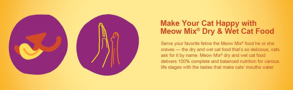 Meow Mix Makes your Cat Happy