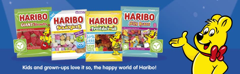 haribo halloween sweets trick or treat