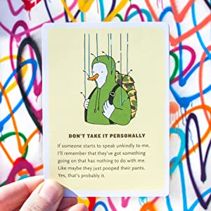 Affirmators! Don't Take it Personally card