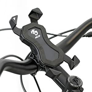 Nc 17 Connect 3d Universal Halter 1 Smartphone Und Handy Halterung Für Fahrrad Bike Motorrad Handyhalter Für Iphone Galaxy Halter Für Navigation Halter Für Mobiltelefon Schwarz Sport Freizeit