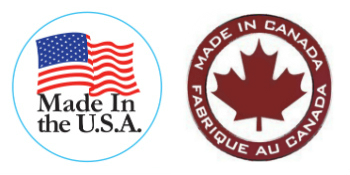 Made in USA and Canada