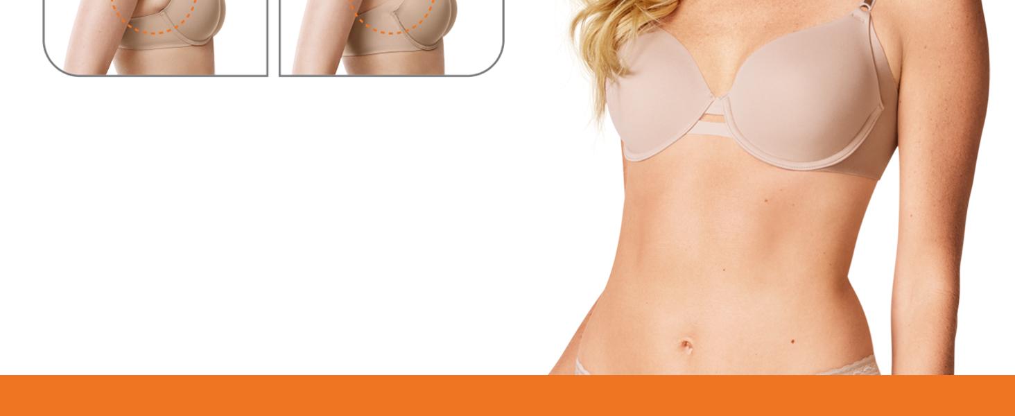 Warner's no side effects, underwire contour bras, best bras, women's bras, smoothing bras