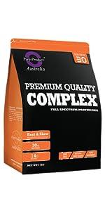 complex premium, protein blend, whey mix, whey blend, protein, casein, whey