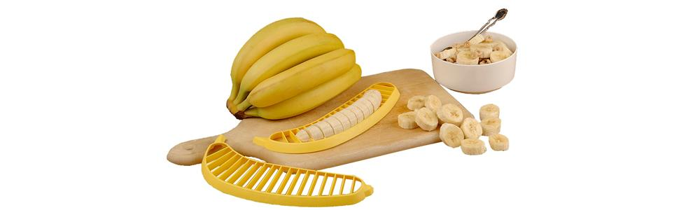 Hutzler Banana Slicer, Cereal with Bananas, 571 Banana Slicer, Banana Slicer with Cereal