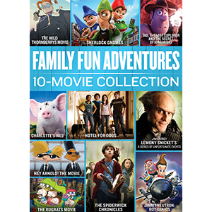 Amazon Com Family Fun Adventures 10 Movie Collection Jim Carrey Tim Curry Johnny Depp Various Movies Tv