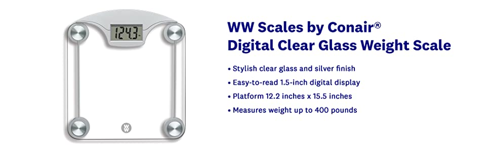 BATHROOM SCALE BATH SCALE WEIGHT SCALE WW WEIGHT WATCHERS