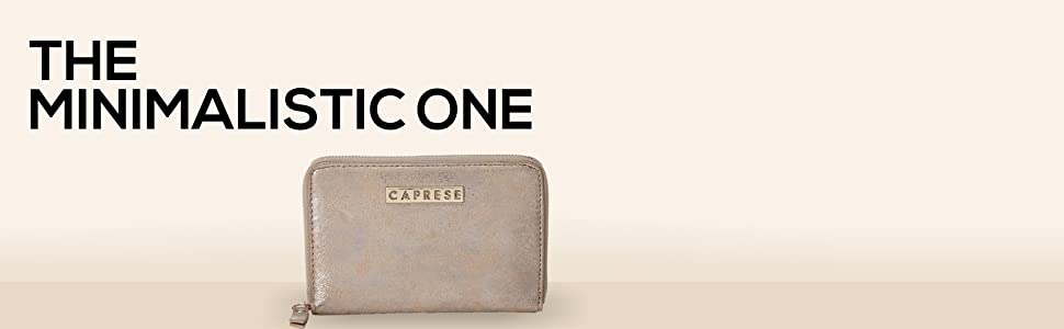 Caprese Lisa Women's Wallet (Rose Gold)