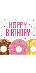 Happy Birthday Paper Napkins