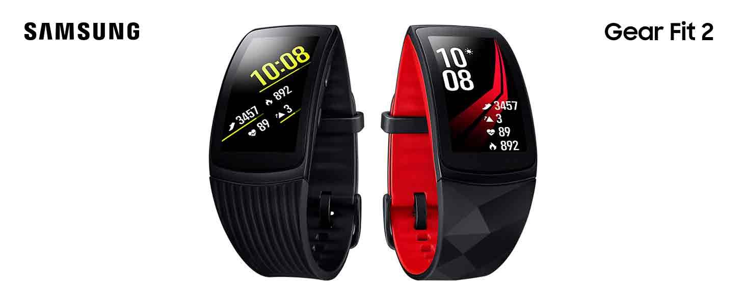 Samsung Gear Fit 2 Pro Red, Rojo: Amazon.es: Deportes y aire libre