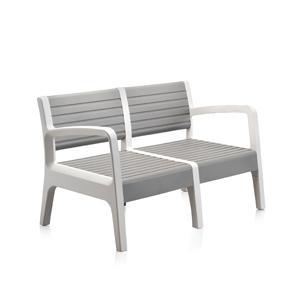 Shaf miami conjunto muebles jard n terraza color piedra for Amazon muebles terraza