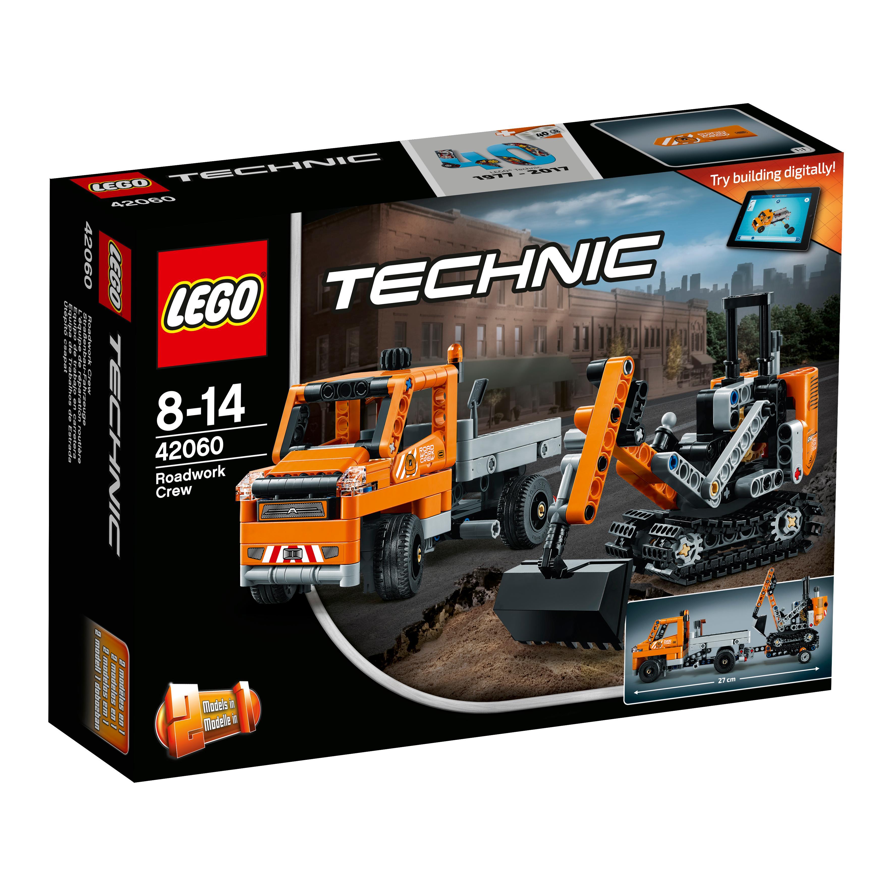 LEGO Technic - Equipo de Trabajo en Carretera (42060