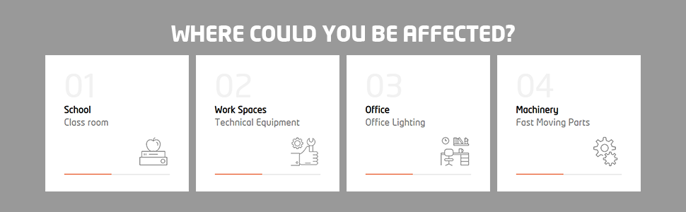 existing LEDs can be replaced with Orient EyeLuv Flicker control LED bulbs and Batten