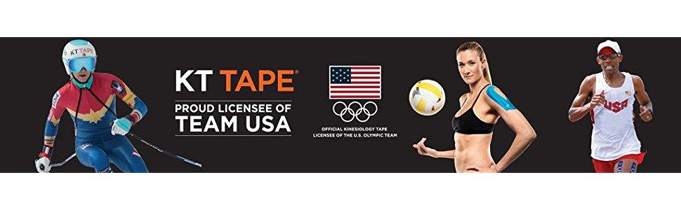 olympics athletes tape wearing injury performance healing relief knee shoulder athletic