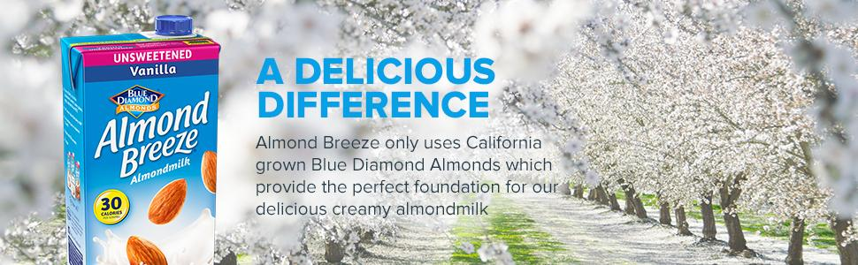 Blue Diamond Almond Breeze Chocolate Almond Milk, 946ml [Pack Of 3] - Urban Platter