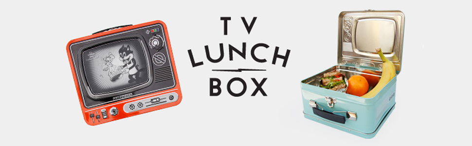 Amazon.com: Suck UK TV Lunch Box I Food Storage Containers I ...