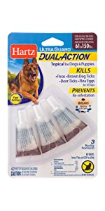 Hartz Ultra Guard Dual Action Drops for Dogs & Puppies