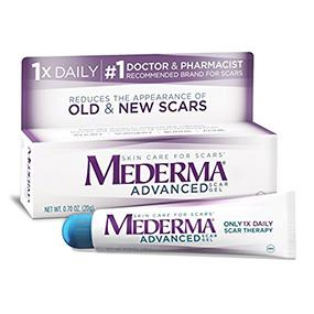 Amazon Com Mederma Advanced Scar Gel 1x Daily Use Less Save