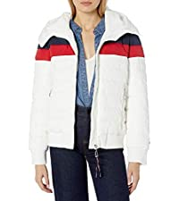 Quilted Bomber Puffer