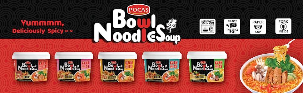 pocas bowl noodle