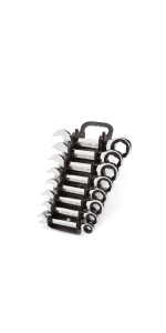 stubby ratcheting combination wrench set