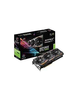 Amazon.com: ASUS Graphic Cards STRIX-GTX1060-A6G-GAMING ...