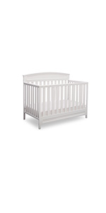 delta children 4 in 1 convertible crib baby infant toddler bed daybed full size bed grow with me
