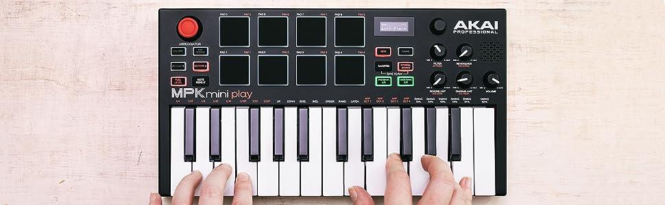 mpk mini play how to use