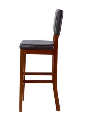 Linon home decor milano bar stool 30 inch for Home decor milano