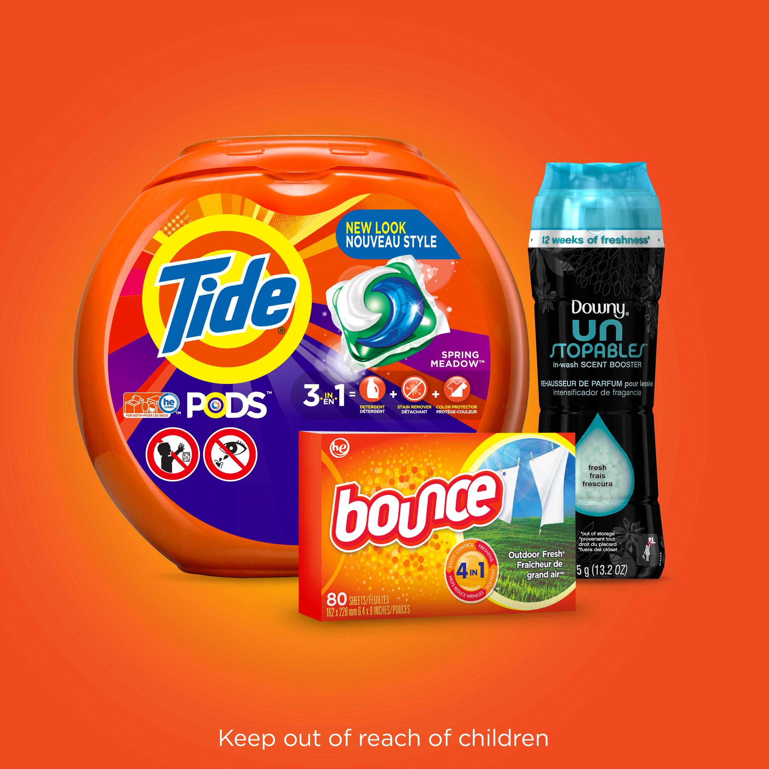Tide Pods 3 In 1 He Turbo Laundry Detergent Pacs Spring