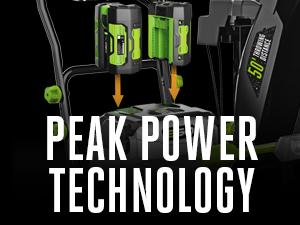 EGO, peak power technology
