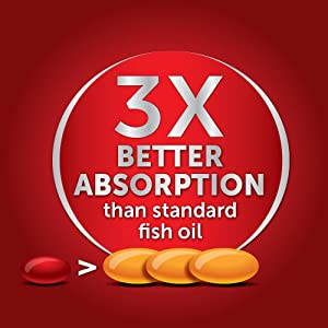 Megared advanced triple absorption 800mg 80 for Megared vs fish oil