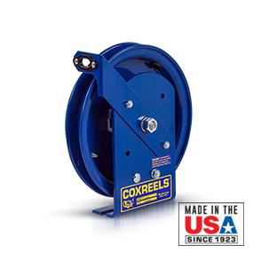 less cable Coxreels SDL-50 Spring Rewind Static Discharge Cable Reel 50 cable capacity