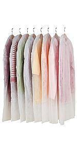 洋服カバー 衣類カバー 衣装カバー 不織布製
