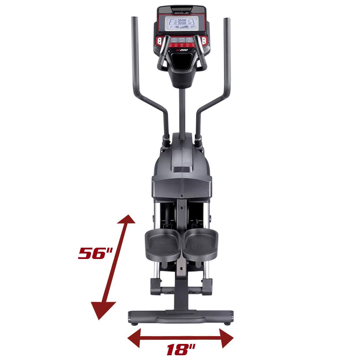 Sole Fitness Sc200 Elliptical Stepper Elliptical Stepper