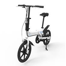 SmartGyro Ebike Silver - Bicicleta Eléctrica, Ruedas de 16