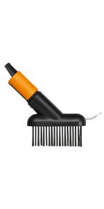 Mango QuikFit 156 cm · Cepillo para baldosas · Cultivador · Aireador · Azada ergonómica · Rastrillo para rosales