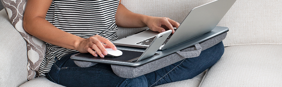 home office, lap desk, lapdesk, lapgear, laptop, tablet, mouse pad, media device, media lap desk