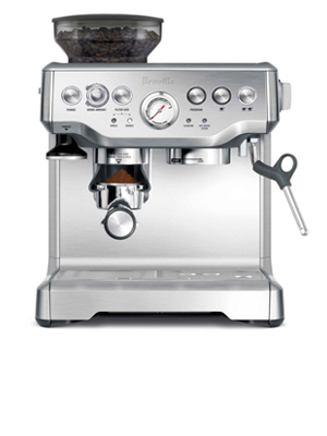 barista express silver by breville