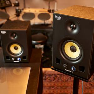 2 x 80 watts, 5 inch, bi-amplified