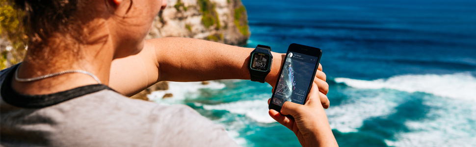surf watch waterproof GPS