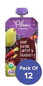 plum organics, organic baby food, organic baby food pouches, baby food pouches