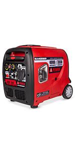A-iPower SUA4000iER 4000 Watt Portable Inverter Generator With Electric Start