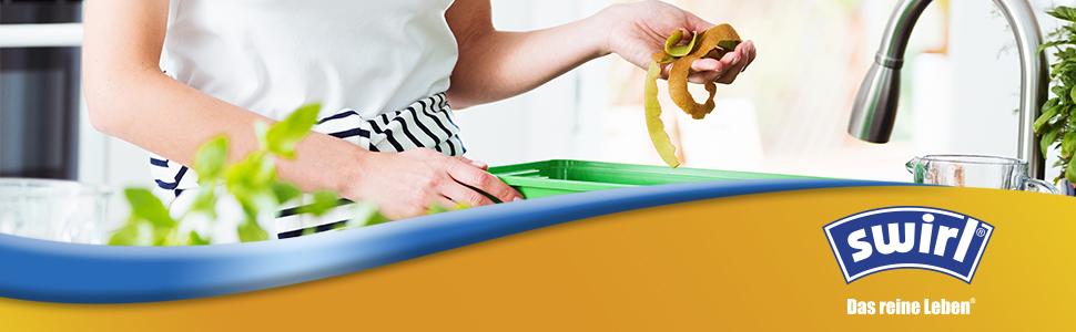 Banner Swirl Müllbeutel