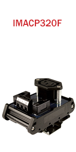 Single AC Outlet IEC320 Connector with Fuse Protection